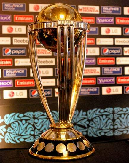 The International Cricket Council's Trophy.