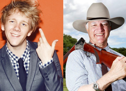 JOSH THOMAS JOINS BOB KATTER IN CAMPAIGN AGAINST GUN CONTROL