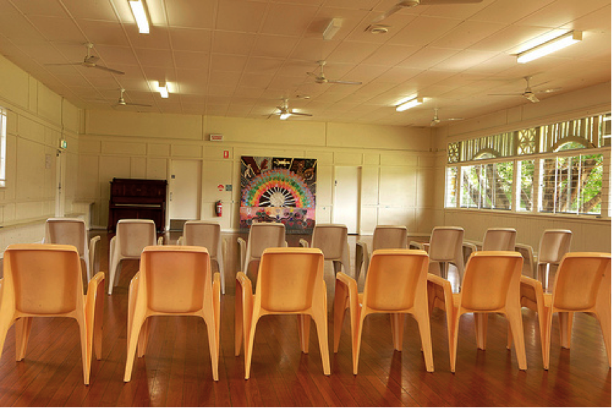Jagera Community Hall in South Brisbane, a venue not ruled out by organizers.