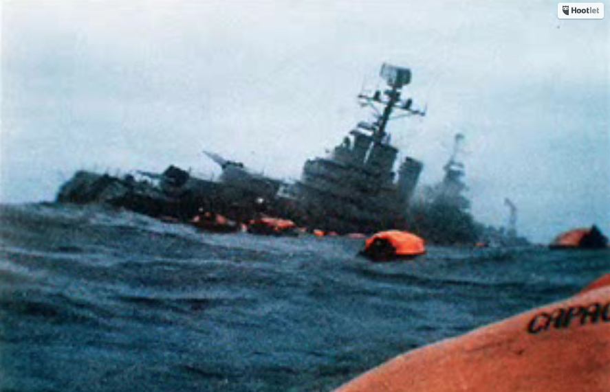 Not since the sinking of the ARA General Belgrano by HMS Conqueror during the Falklands War has there been a full-scale naval conflict.