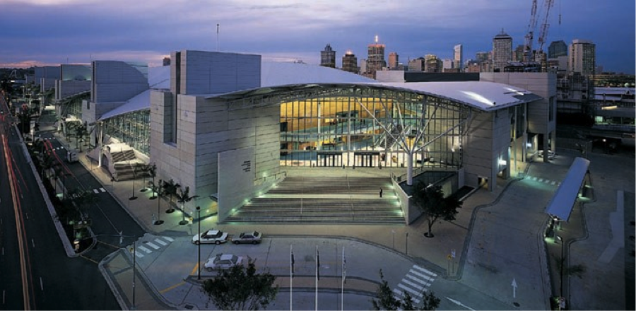 Would-be venue, the Brisbane Convention and Exhibition Centre.