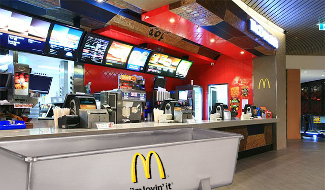 McDonald's to trial new trough delivery system in late night hot spots