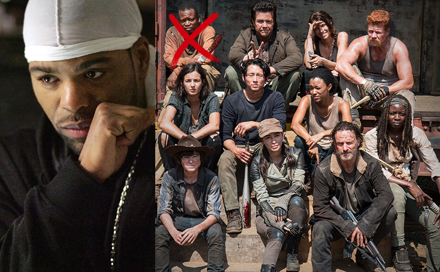 Rapper turned actor, Method Man has announced he is the addition addition to the walking dead cast.