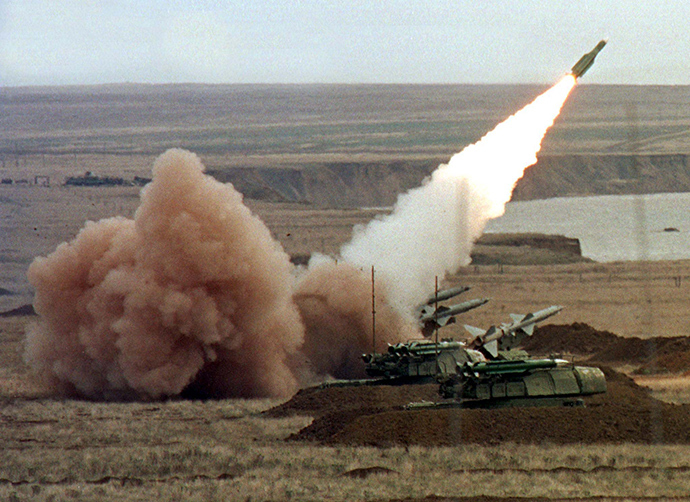 A Russian BUK anti-aircraft system, similar to the one that destroyed the cure to the AIDS virus PHOTO: RT.com