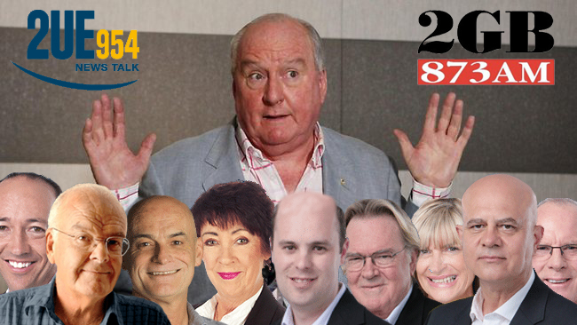 "Staff at 2UE are ""sick and tired"" of being asked if they work with Alan Jones"