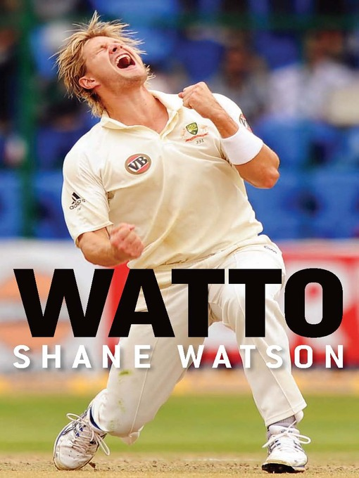 Shane Watson's premature Autobiography
