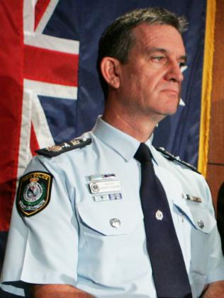 "Police Commissioner Andrew ""Big Dog"" Scipione"