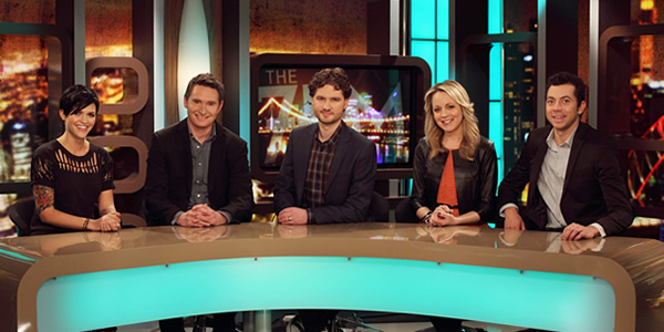 Network Ten's flaunts a woeful line-up on the debut  episode of what was formerly known as The 7pm Project