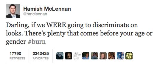 Network Ten CEO rinses Chrissie down.