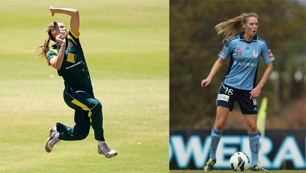 Ellyse Perry: An athlete who is good enough to represent Australia in cricket and football
