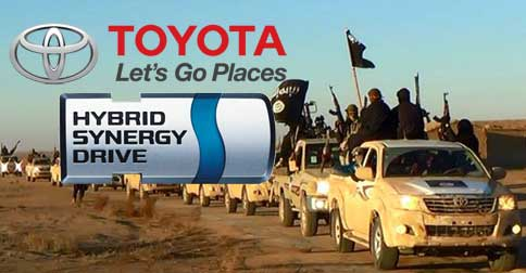 Recent crash in oil price forces ISIS to use stolen hybrid vehicles