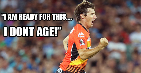 Hoggy reckons he'll be playing Big Bash until he is 50 – He's deadset!