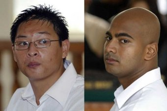 Australians, Andrew Chan and Myuran Sukumaran, the two men who died at the hands of a hypocritical state-sanctioned murder in Indonesia last night.
