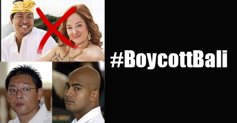 #BoycottBali shows that even bogans are opposed to capital punishment