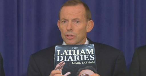 "PM Tony Abbott unveils ""Labor dirt file"" during National Press Club address"