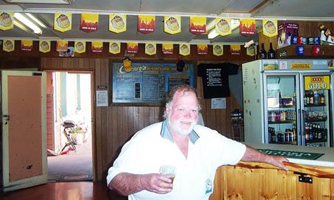 "Isisford publican Ron Kelly says the new laws are ""un-Australian"". PHOTO: Imran Gashkori/RugbyMedia"
