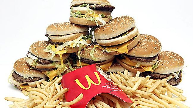 FAST FOOD, the life-shortening American vice is  something that Jarryd Hayne is getting more and more used to