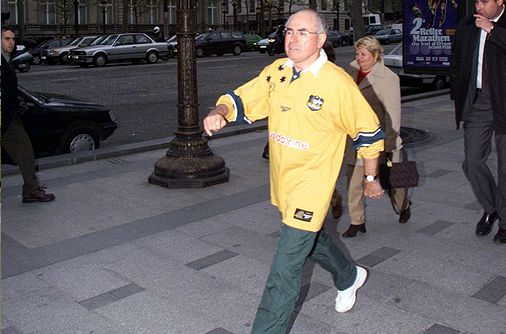 In London during the 1999 Rugby World Cup.