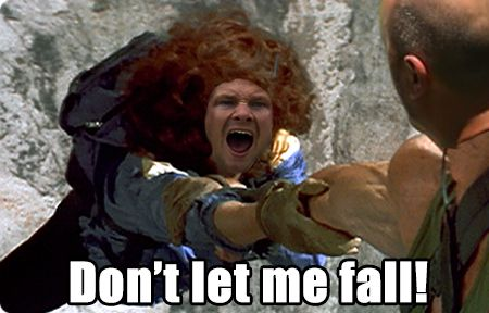 A crudely-made meme that shows Shane Watson pleading with Alex Kountouris not to let him fall. SOURCE: 4chan