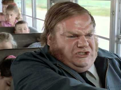 "In 1997, actor Chris Farley died of ""speedballing"" on cocaine and heroin. His last words were to a prostitute, asking her not to leave him.  PHOTO: Colombia Tri-Star"