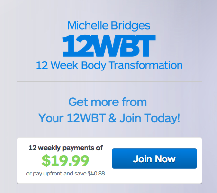 The 12WBT program. The only answer to eternal happiness