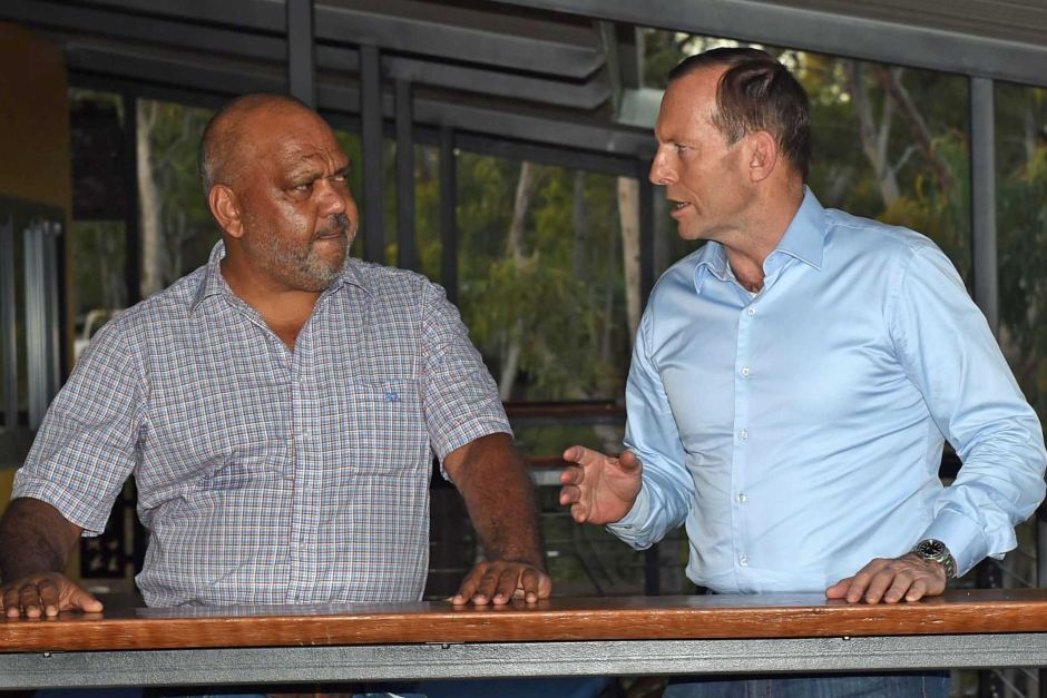 Tony Abbott talks shit with Indigenous lawyer, Noel Pearson - one of the many men to come out against his recent gaffe