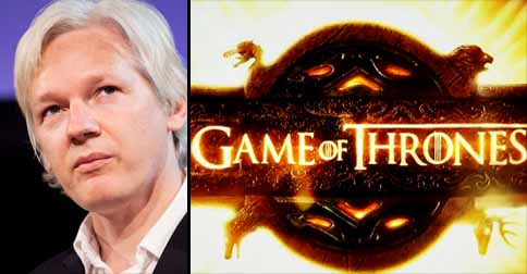 Wikileaks founder to reveal Game Of Thrones spoilers unless demands are met