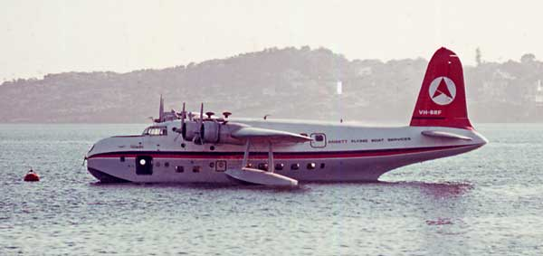 Flying boats could return to Rose Bay in 2016 with help from Clive Palmer. PHOTO: trove.gov