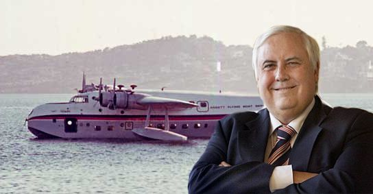 """No plebs allowed"" – Is this new airline Clive Palmer's exit strategy from politics?"