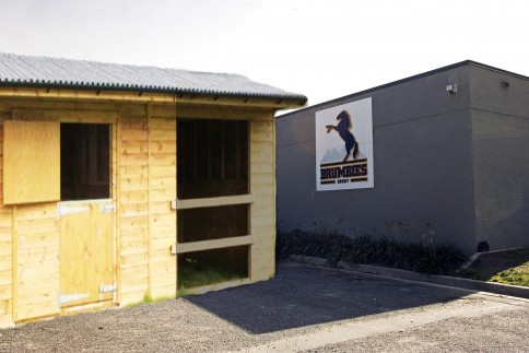 The new high horse stable at Brumbies HQ