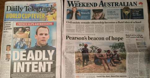 "News Corp Australia in turmoil as they ""forgot about the election"" in NSW today"