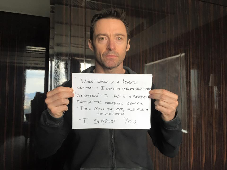 Hugh Jackman shows support for the Western Australian and Northern Territory communities facing closure