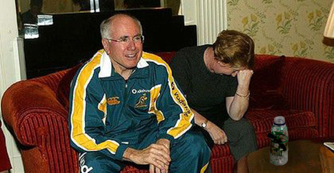 John Howard's iconic tracksuit collection to be auctioned to aid victims of English cricket disaster