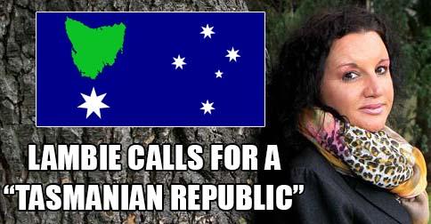 "Senator Jacqui Lambie calls for a ""Tasmanian Republic"""