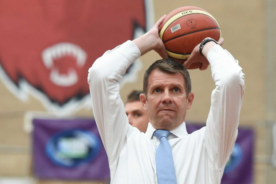 Mike Baird doesn't even break a sweet as he lines up yet another 3