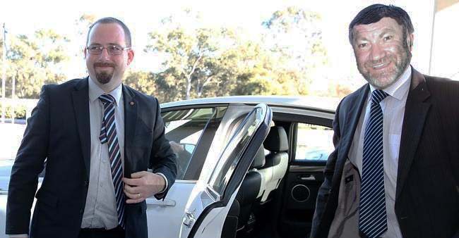 "Has political analyst Tim ""Sharky"" Ward been hired by Senator Ricky Muir?"