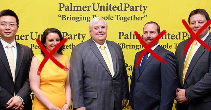 Clive Palmer is rapidly losing allies in his race to Prime Minister