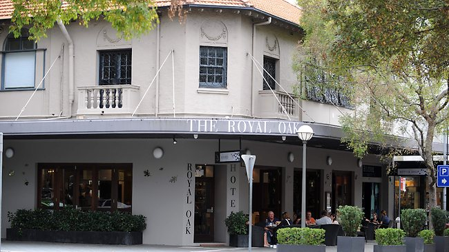 The Royal Oak in Sydney's Eastern Suburbs. A legendary hotel known for housing coked-up private school kids.