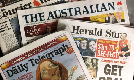 Courier Mail, The Australian, Herald Sun and The Daily Telegraph - The Betoota Advocate's new siblings in the News Corp family