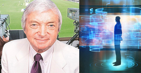 As Australia mourns, Nine vows to immortalize Benaud as a hologram commentator