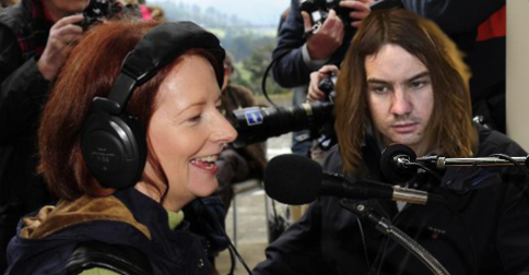 Kevin Parker and Julia Gillard talk new projects and Currents on ABC Radio