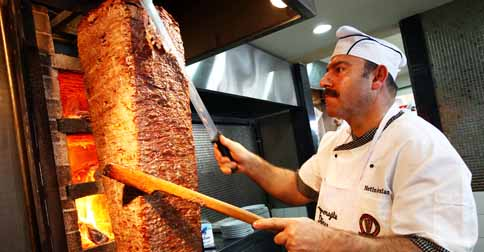 "Kebabs can be legally consumed by racist dickheads on ANZAC Day as a mark of respect towards the ""sneaky Turks"". PHOTO: Glenda Nikkoladis/New Idea"