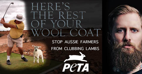 "PETA Exposes Australian Wool Industry's Controversial ""Lamb-Clubbing"" Practices"