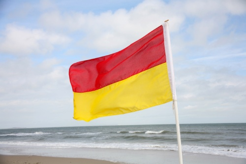 The red and yellow Life Saver flags have tricked thousands into oppression says Magnolia