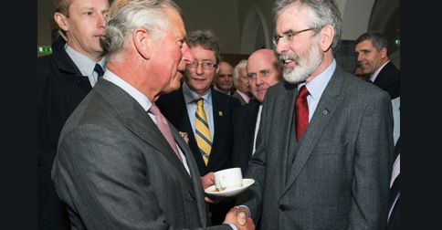 Britain's Most Hated Man Shakes Hands With Irish Republican Leader