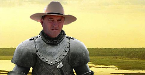 "Barnaby Joyce crowned ""King of the North"" after finally ""coming good"" for regional Australians"