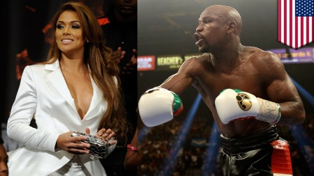 Boxing champ Floyd Mayweather sued for domestic violence by ex-fiancee
