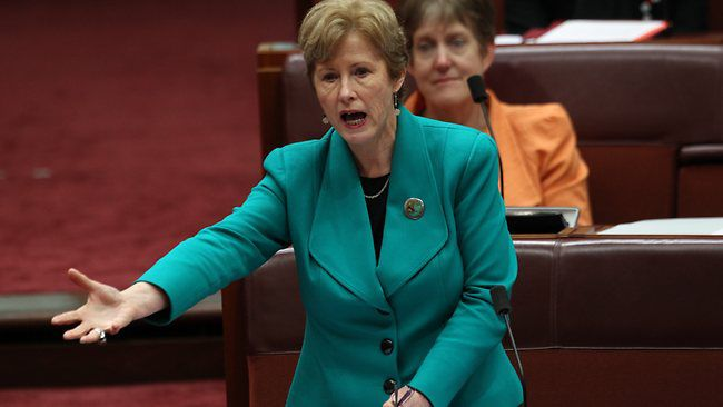 Greens leader Christine Milne has resigned. PHOTO: ABC NEWS