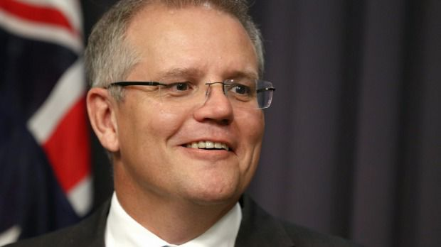 "Alleged human rights violator Scott Morrison is now the ""Reverend Camden"" on the Liberal Party. PHOTO: smh.com.au"