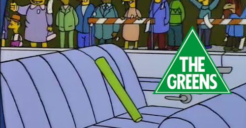 Is this the new Greens leader? He's impassioned and green inside and out